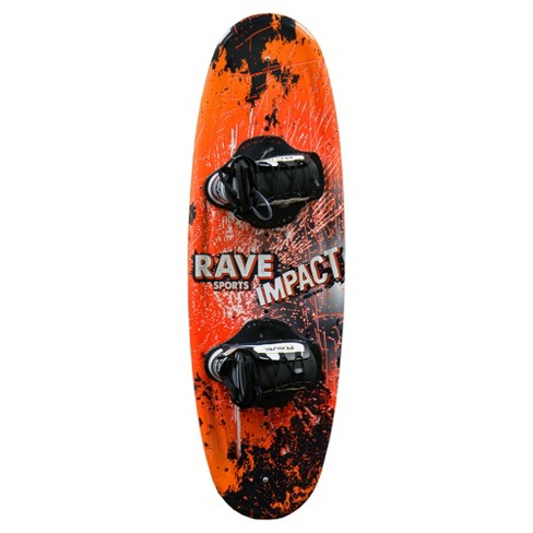 Rave Sports Impact Wakeboard with Charger Boots - Orange - image 1 of 4