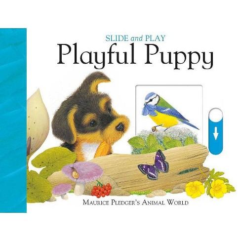 Slide and Play: Playful Puppy - (Slide & Play) by  A J Wood (Board_book) - image 1 of 1