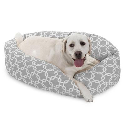 Majestic Pet Links Sherpa Bagel Dog Bed