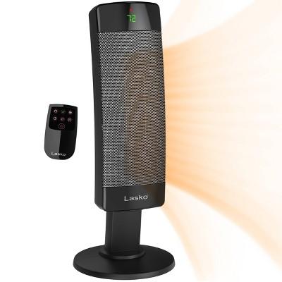 Lasko Ceramic Pedestal Tower Indoor Heater Black 1500W CS27600
