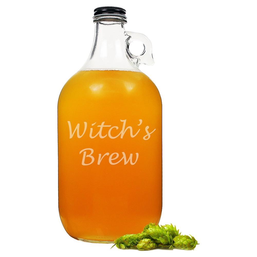 Halloween Witch's Brew Growler, Clear