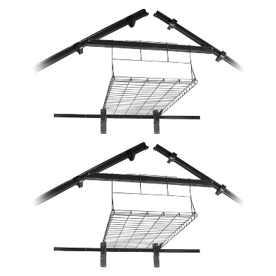 Suncast BMS Outdoor Storage Garden Shed Loft Shelf, Storage Buildings (2 Pack)