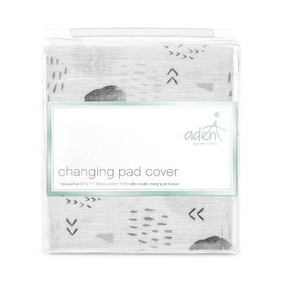 aden by aden + anais Changing Pad Covers - Gray