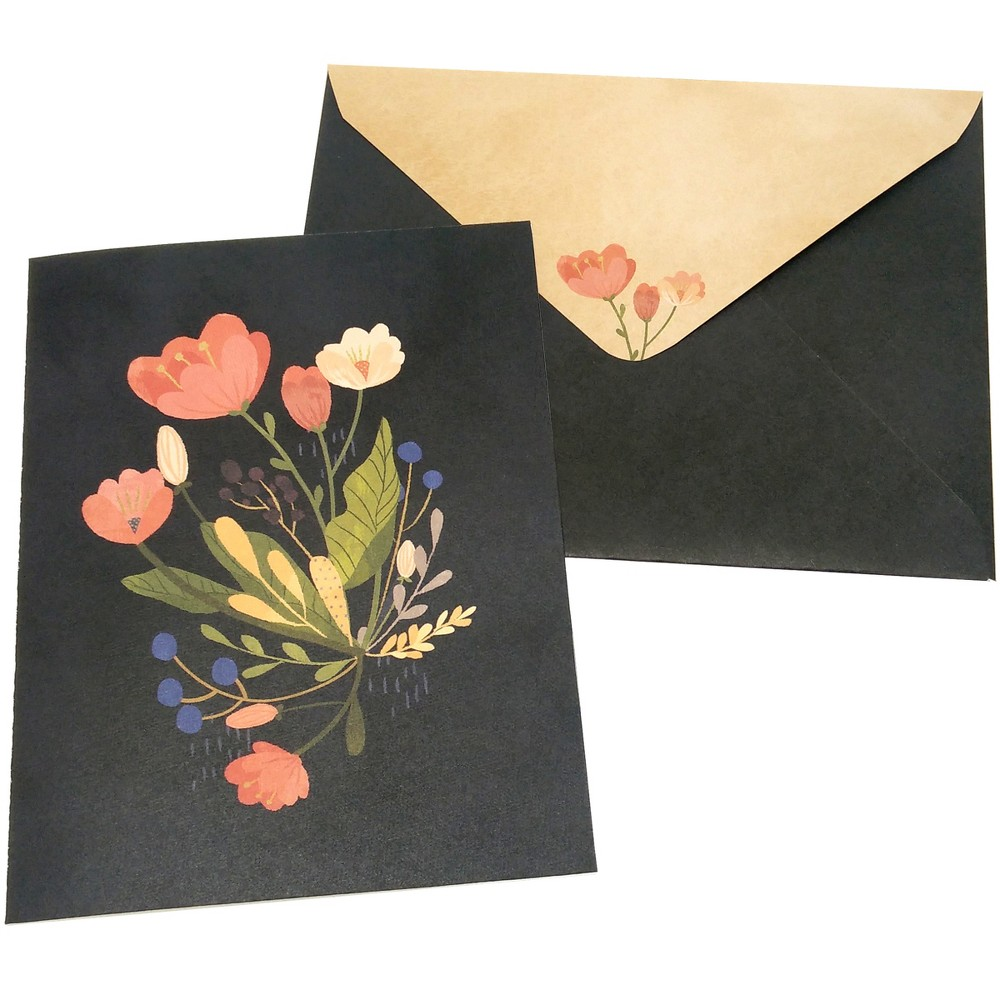 Image of 10ct Bouquet Blank Cards