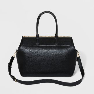 Zip Closure Weekender Bag - A New Day™ Black