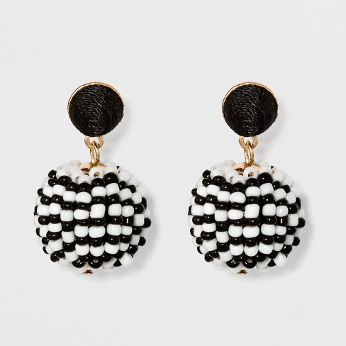 SUGARFIX by BaubleBar Beaded Drop Earrings - image 1 of 3