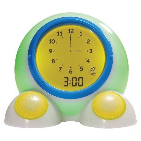 Teach Me Time! Talking Bedside Alarm Clock and Night-Light