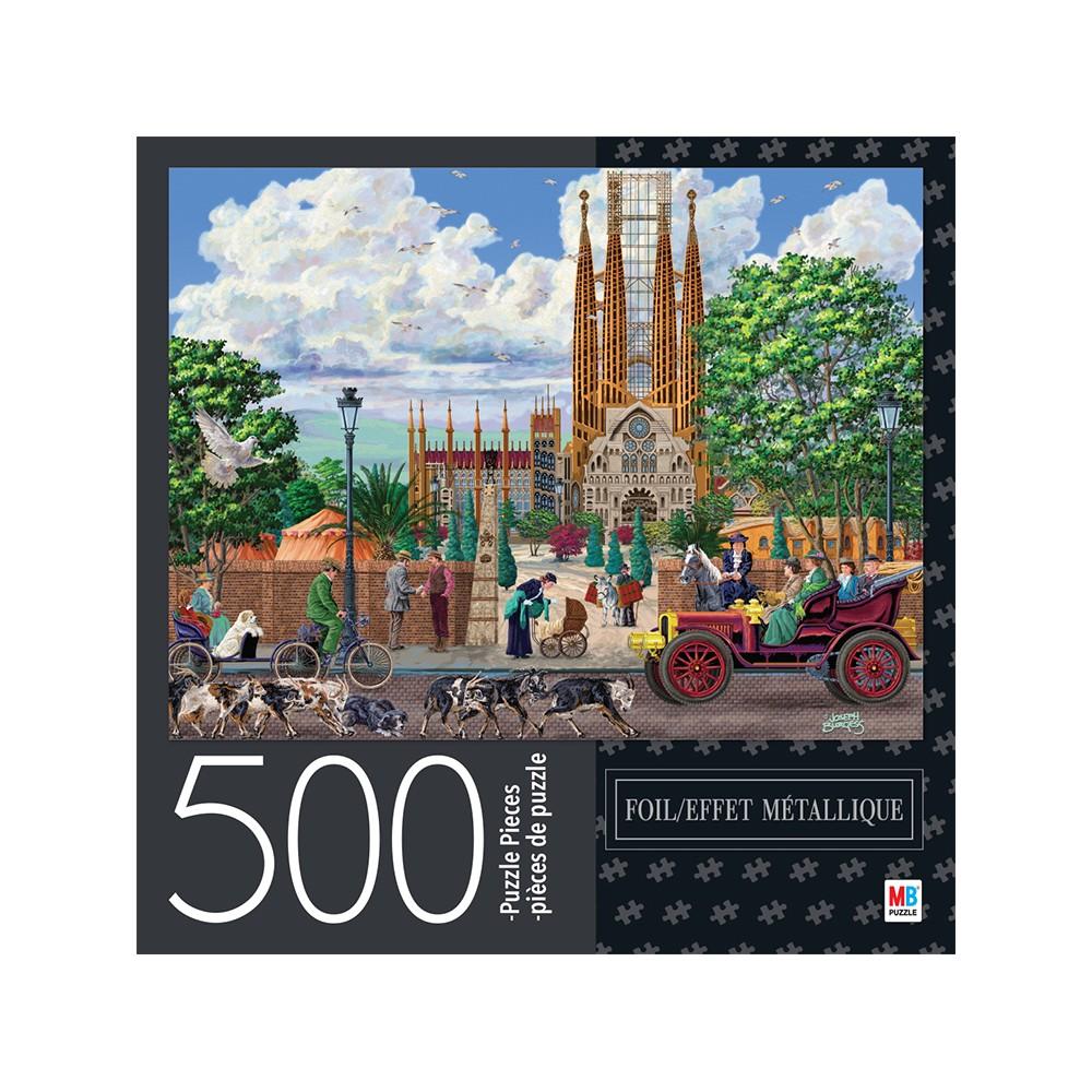 Cardinal 500pc Foil Puzzle - Barcelona