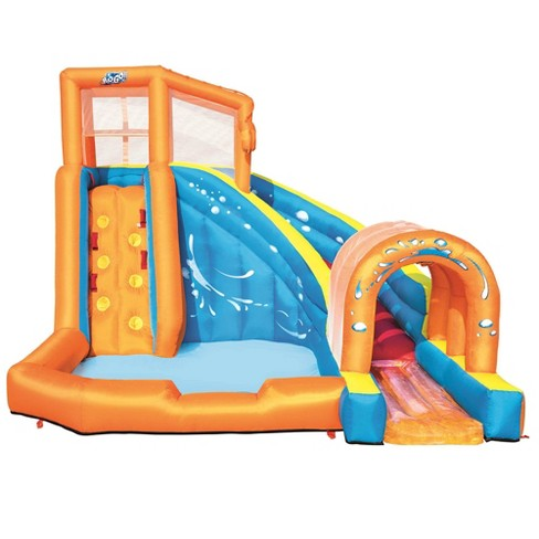Bestway H2OGO! Hurricane Tunnel Blast Inflatable Water Park Pool with Slide - image 1 of 4