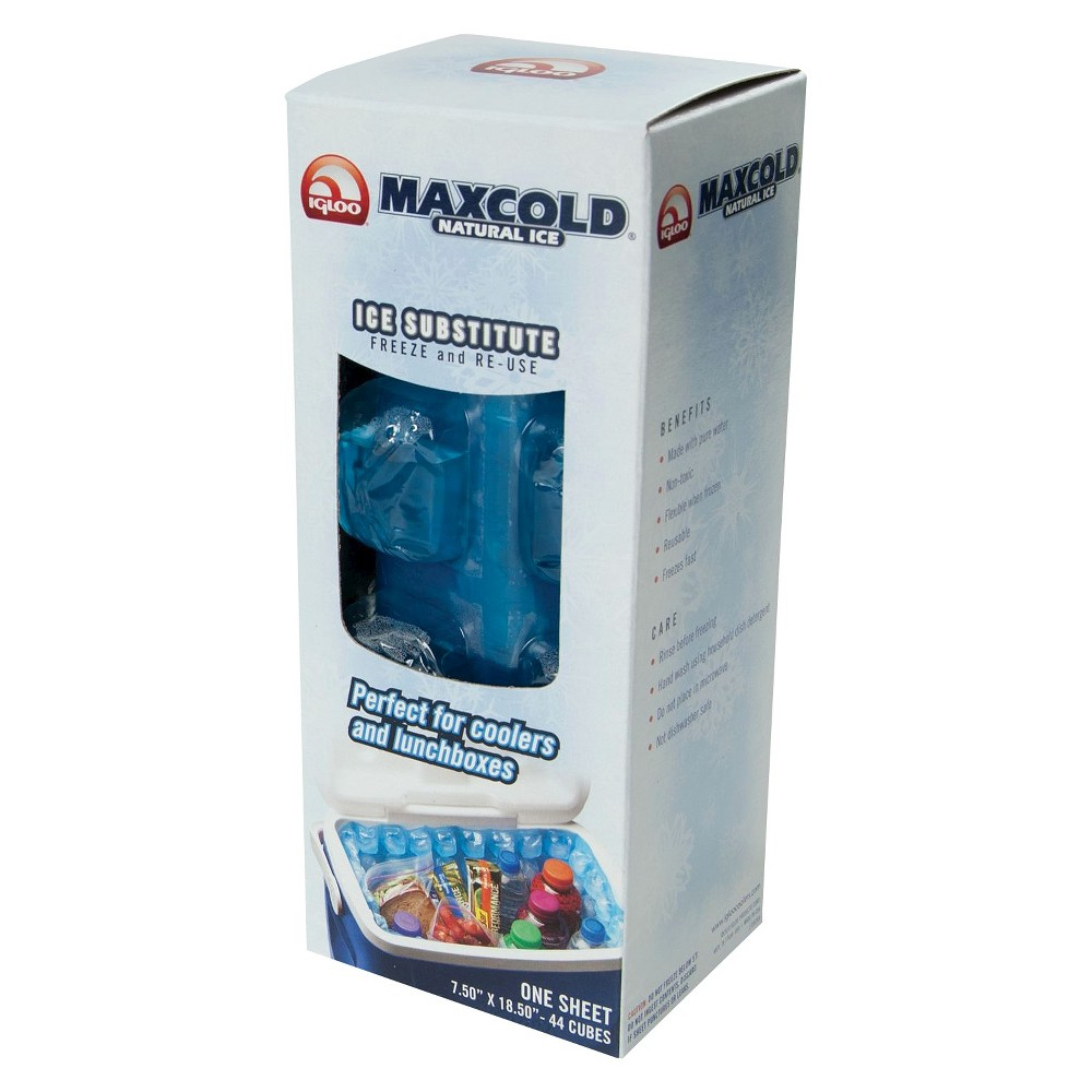 Image of Igloo MaxCold Natural Ice - 1 lb. Sheet