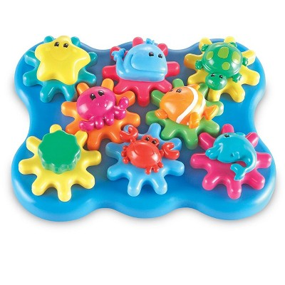 Learning Resources Jr Gears Under Sea Building Set, Fine Motor Toy