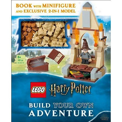 LEGO Harry Potter Build Your Own Adventure Various Artists - by Elizabeth Dowsett (Hardcover)