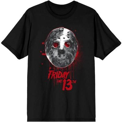 Mens Jason Mask Friday The 13th Jason Shirt