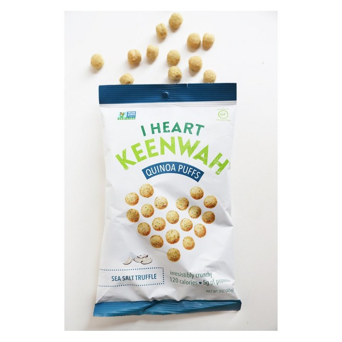 I Heart Keenwah Sea Salt Truffle Quinoa Puffs - 3oz - image 1 of 1