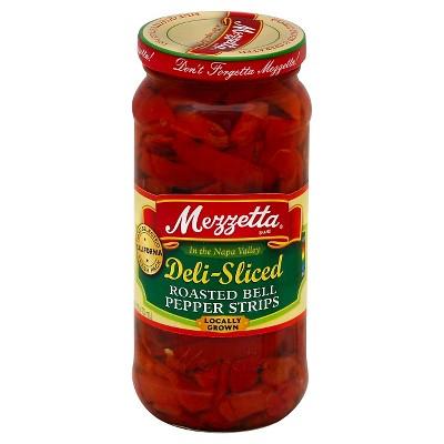 Mezzetta Deli Sliced Roasted Bell Pepper Strips - 16oz