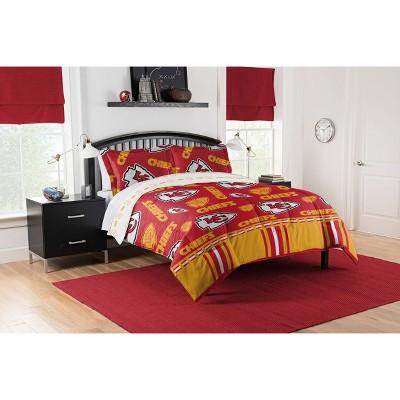 NFL Kansas City Chiefs Rotary Bed Set