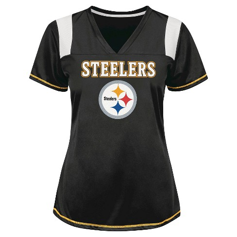 Pittsburgh Steelers Women's Shimmer Top XXL - image 1 of 1