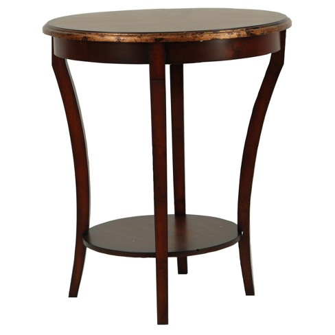 End Table Brown - Safavieh - image 1 of 3