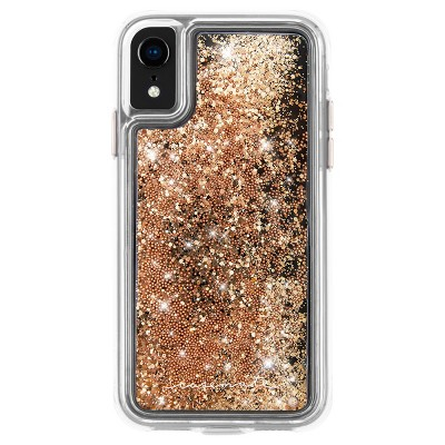 Case-Mate Apple iPhone XR Waterfall Case - Gold