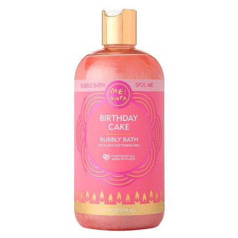Bath Birthday Cake Bubble