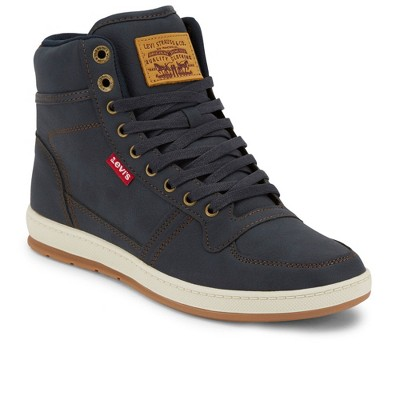 Levi's Mens Stanton Waxed UL NB Fashion Hightop Sneaker Shoe