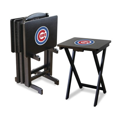 Chicago Cubs Imperial TV Tray Set