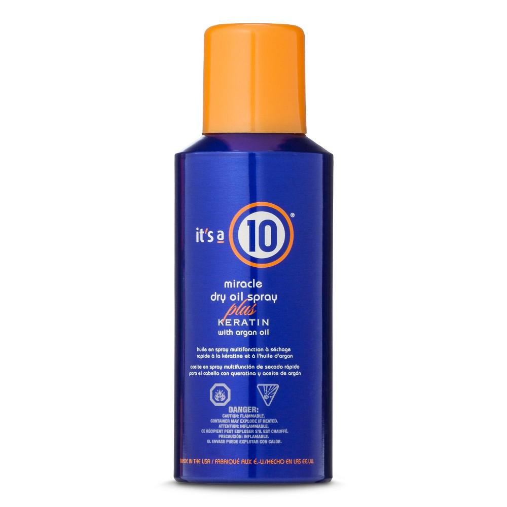 It's a 10 Miracle Dry Oil Spray Plus Keratin With Argan Oil Spray - 5oz