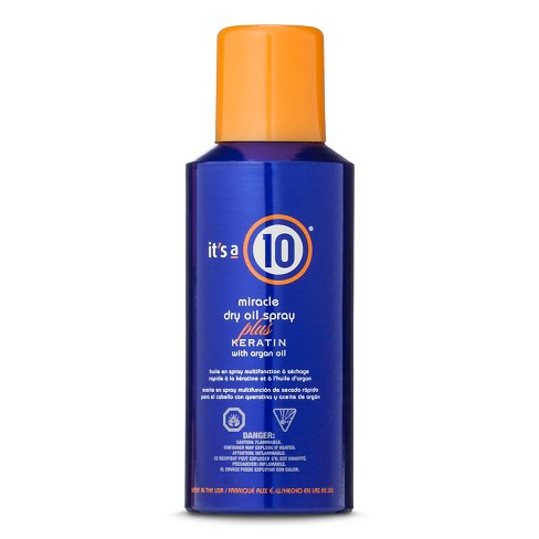 It's a 10 Miracle Dry Oil Spray Plus Keratin With Argan Oil Spray - 5oz - image 1 of 1
