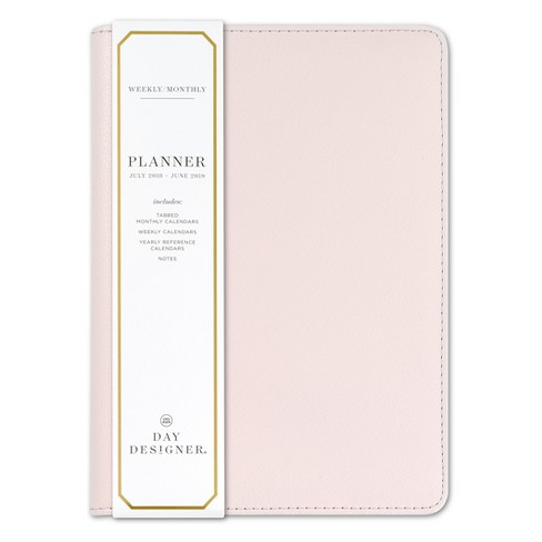 2018 - 2019 Bookbound Day Designer Monthly Weekly Planner - Blushing - image 1 of 4
