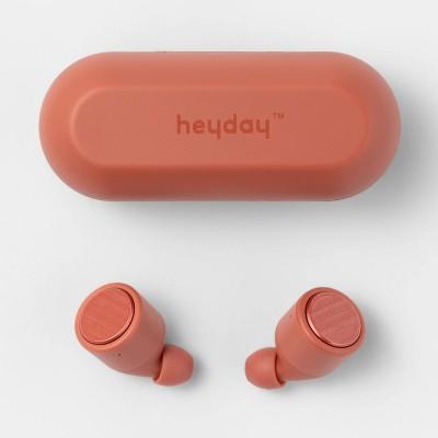 heyday™ True Wireless Earbuds - Warm Red
