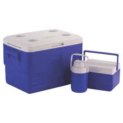 Coleman® 3pc 36qt Cooler Combo - Blue
