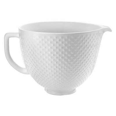 KitchenAid 5qt Hobnail Ceramic Bowl - KSM2CB5