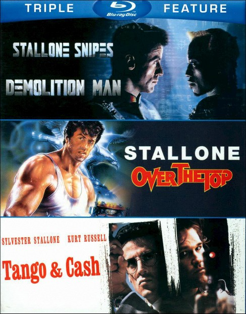 Sylvester stallone:Triple feature (Blu-ray) - image 1 of 1