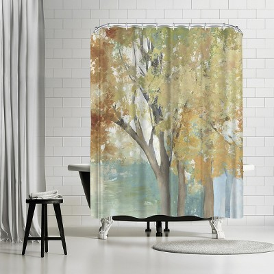 Americanflat Yearning For Iii By Pi Creative Art 71 X 74 Shower Curtain Target