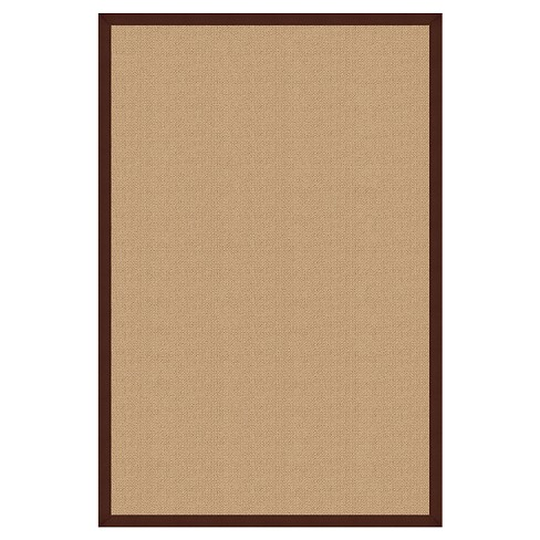 "Athena Wool Area Rug - Brown (8'9"" X 12') - image 1 of 1"