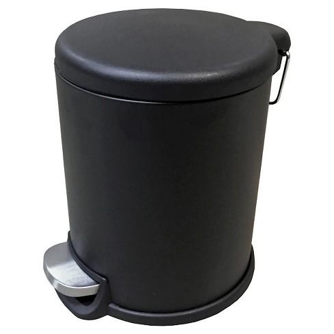 5l Trash Can Black Room Essentials Target