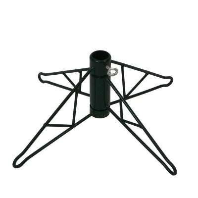 Northlight Green Metal Christmas Tree Stand For 4 4 5 Artificial Trees Target