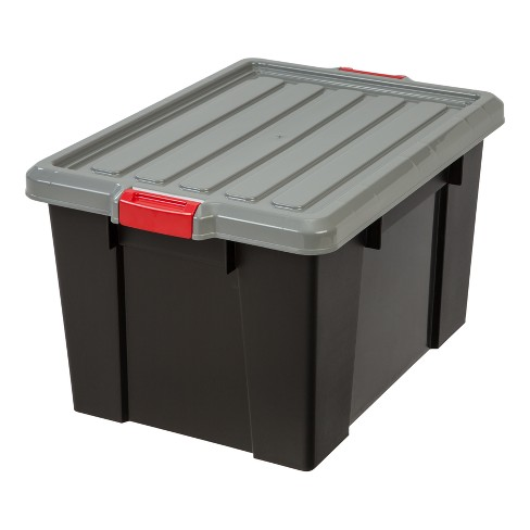 IRIS 70qt Heavy Duty Plastic Storage Bin - 4pk - image 1 of 5