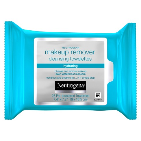 Neutrogena Hydrating Makeup Remover Cleansing Facial Towelettes - 25ct - image 1 of 3