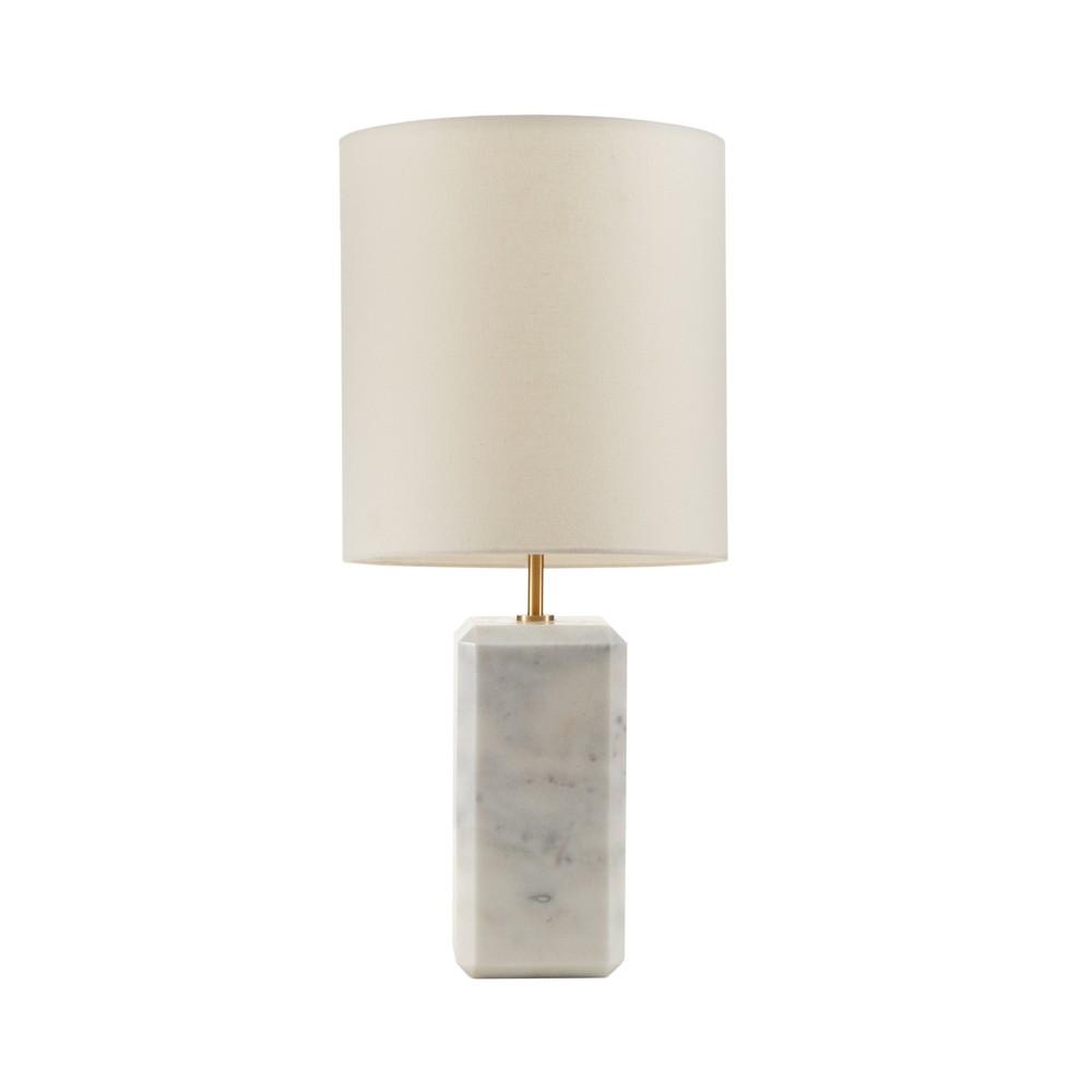 """Image of """"12"""""""" x 25.5"""""""" Orsa Table Lamp (Includes Energy Efficient Light Bulb) White"""""""