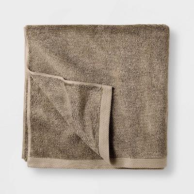 Organic Bath Sheet Dark Sand - Casaluna™