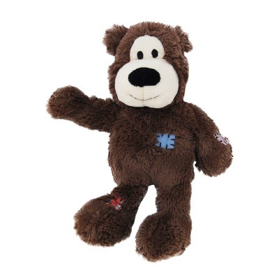 KONG Wild Knots Bear Dog Toy - Brown - XS