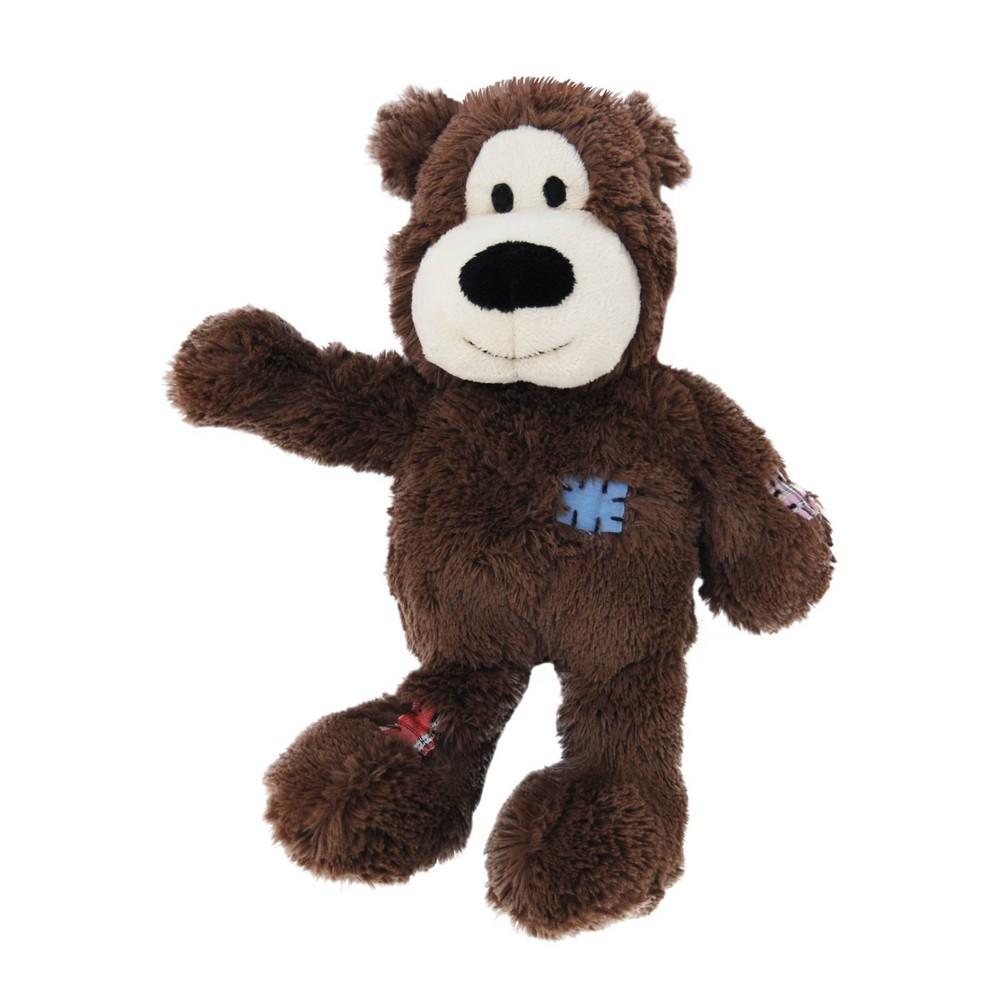 Kong Wild Knots Bear Dog Toy Brown Xs