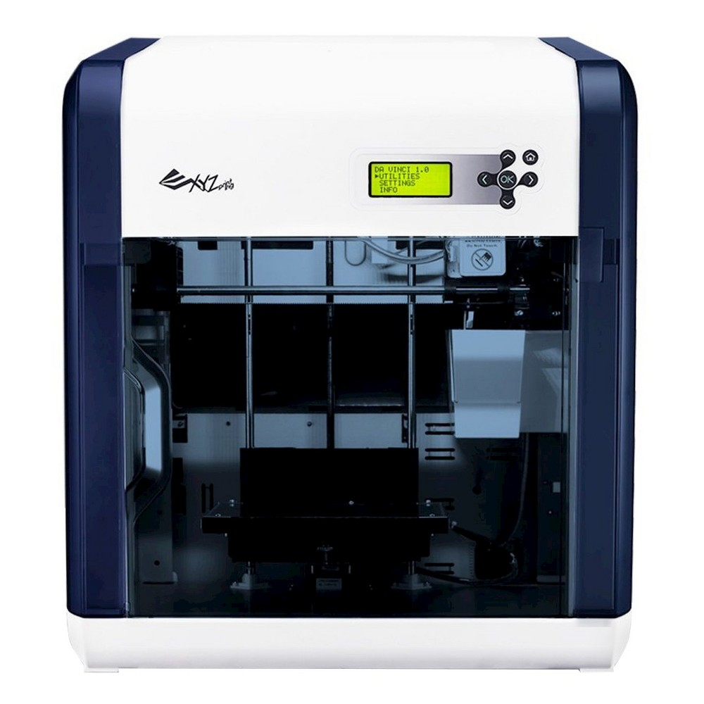 XYZprinting da Vinci 1.0 3D Printer - Black/ White (3F10AXUS00A), Blue/White