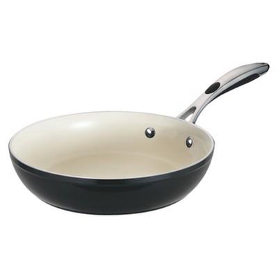 """Tramontina Gourmet Ceramica Deluxe 10"""" Fry Pan - Black"""
