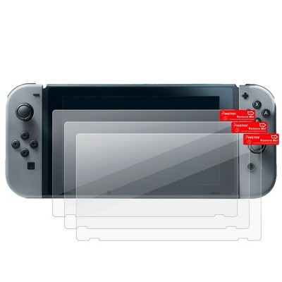 Insten 3 Pack Clear Screen Protector Compatible with Nintendo Switch