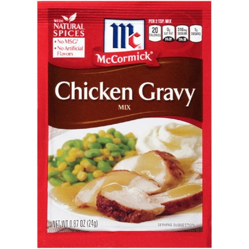 McCormick Chicken Gravy Mix .87 oz - image 1 of 3