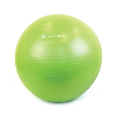 Merrithew Kids' Stability Ball with Pump - Lime (45cm)