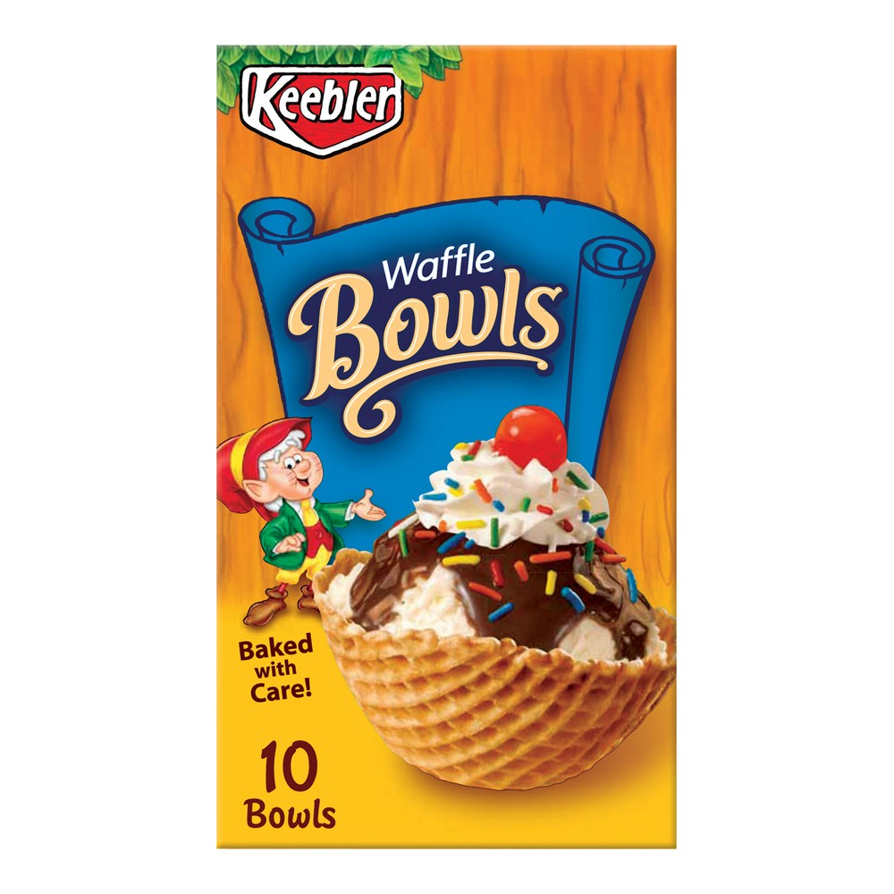 Keebler Waffle Bowls - 4oz -10ct