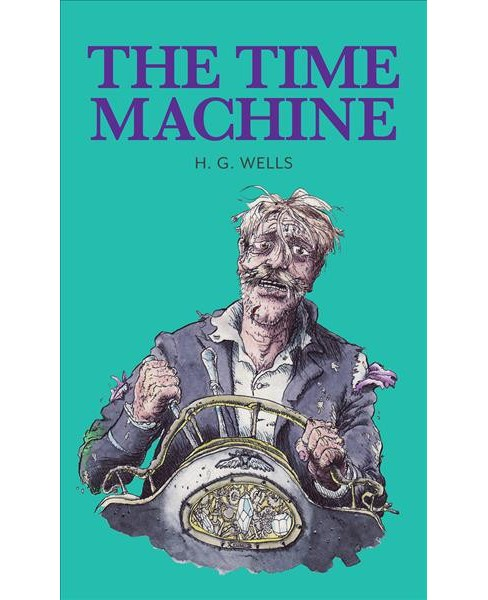 Time Machine -  (Baker Street Readers) by H. G. Wells (Hardcover) - image 1 of 1